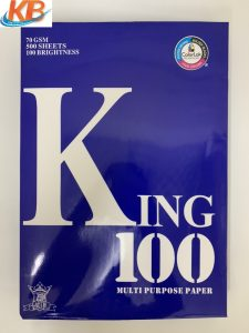 Giấy King 100 A3 ĐL 70gsm