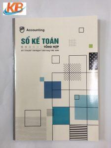 Sổ kế toán tổng hợp Hải Tiến 200 trang