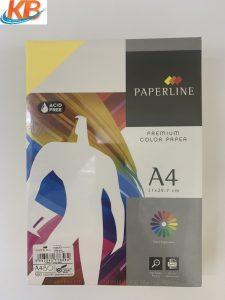 Giấy màu Vàng Paperline A4 ĐL 80