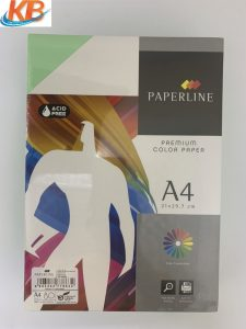 Giấy màu Xanh Cốm Paperline A4 ĐL 80