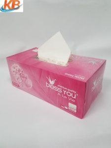 Khăn giấy lụa Bless You 2 lớp