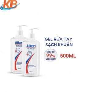 Nước rửa tay Aiken sạch khẩn 500ml